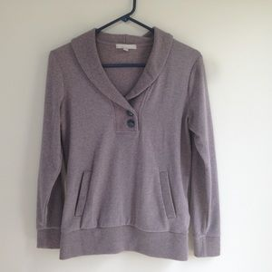 Banana Republic tan sweatshirt sweater size small